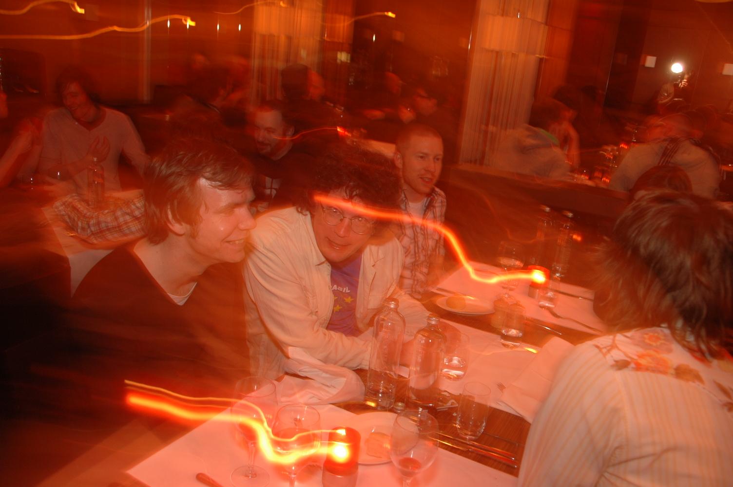 Speakers Dinner